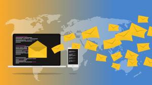Illustration of email marketing